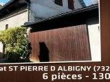 A vendre - Batiment - ST PIERRE D ALBIGNY (73250) - 6 pièces - 130m²