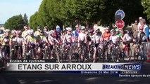 Championnat de bourgogne école de vélo Etang-sur Arroux catégorie pupilles