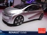 Le Renault Eolab Concept en direct du Mondial Auto 2014