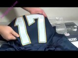 2014 NFL Draft jerseys San Diego Chargers Philip Rivers #17 Premier unboxing review