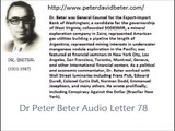 Dr Peter Beter Audio Letter 78 - August 27, 1982 - The Surprise Halt to the Beirut Holocaust; Final Pentagon Plans for Surprise Nuclear War; The Russian Surprise Weapon for Nuclear Defense