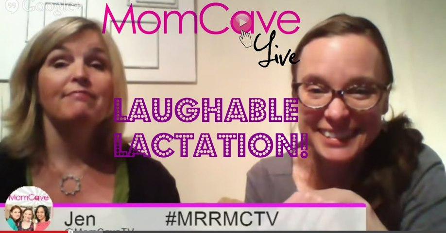 Laughing & Lactating!-Lactation Consultant Leigh Anne- Nursing Tea Giveaway - MomCave LIVE - Ep 22