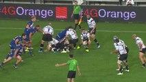 TOP14 - Grenoble-Brive: Essai Benito Masilevu (BRI) - J9 - Saison 2014/2015