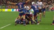 TOP14 - Grenoble-Brive: Essai Dominiko Waqaniburotu (BRI) - J9 - Saison 2014/2015