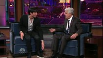 Evan Lysacek on Jay Leno Tonight Show