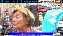 Télévision Bordeaux33 Dimanche les opposants du mariage libre la manif pour Tous dans les rues de Bordeaux