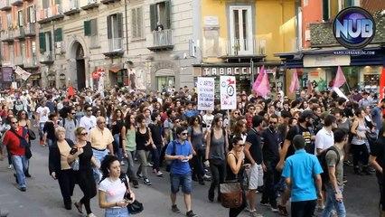 #10ott 2014 Napoli - Corteo studentesco
