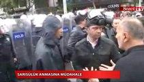 Ankara'da Sarısülük anmasına müdahale