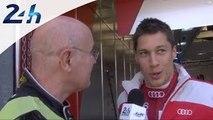 Journée Test des 24 Heures du Mans 2014 - Loïc Duval objectif: gagner