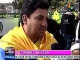 Celebran colombianos triunfo de Nairo Quintana en Giro de Italia