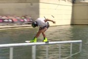 Daniel Grant 1st Final Wakeboard @ FISE World Montpellier - Wakeboard