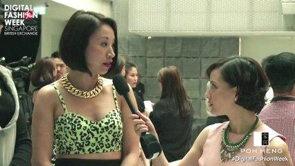 POH HENG X Digital Fashion Week Singapore 2013