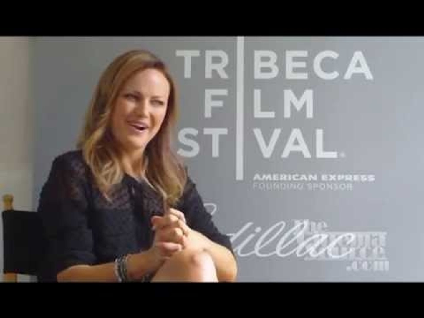 Malin Akerman Exclusive Interview for the movie The Bang Bang Club at The Tribeca Film Festival
