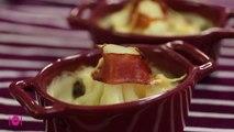 Recette de gratin de chou fleur au jambon de parme
