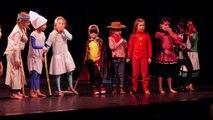 2ème partie Spectacle des tout petits d'Espace Oxygène au Théâtre de Ménilmontant - Mai 2014