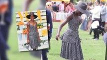 Lupita Nyong'O klaut allen die Show beim Veuve Clicquot Polo Classic Event