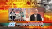 Tejada sobre relación Humala-OLM: Pongo las manos al fuego por el presidente (2/2)