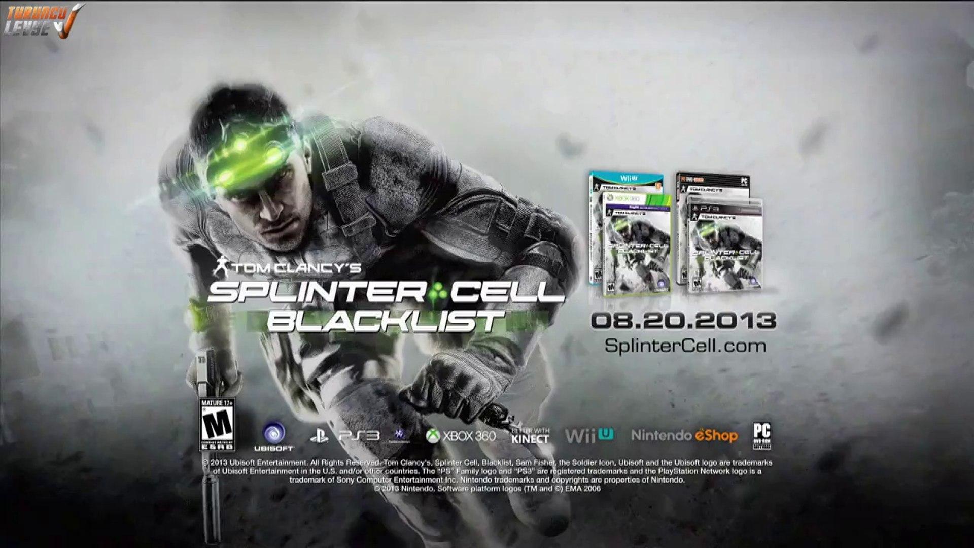 Splinter Cell: Blacklist - Görünmez Videosu