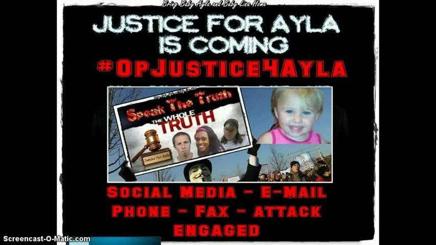 #OpJustice4Ayla call to the FBI