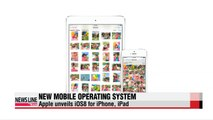 Apple unveils new operating system, iOS8 for iPhone, iPad
