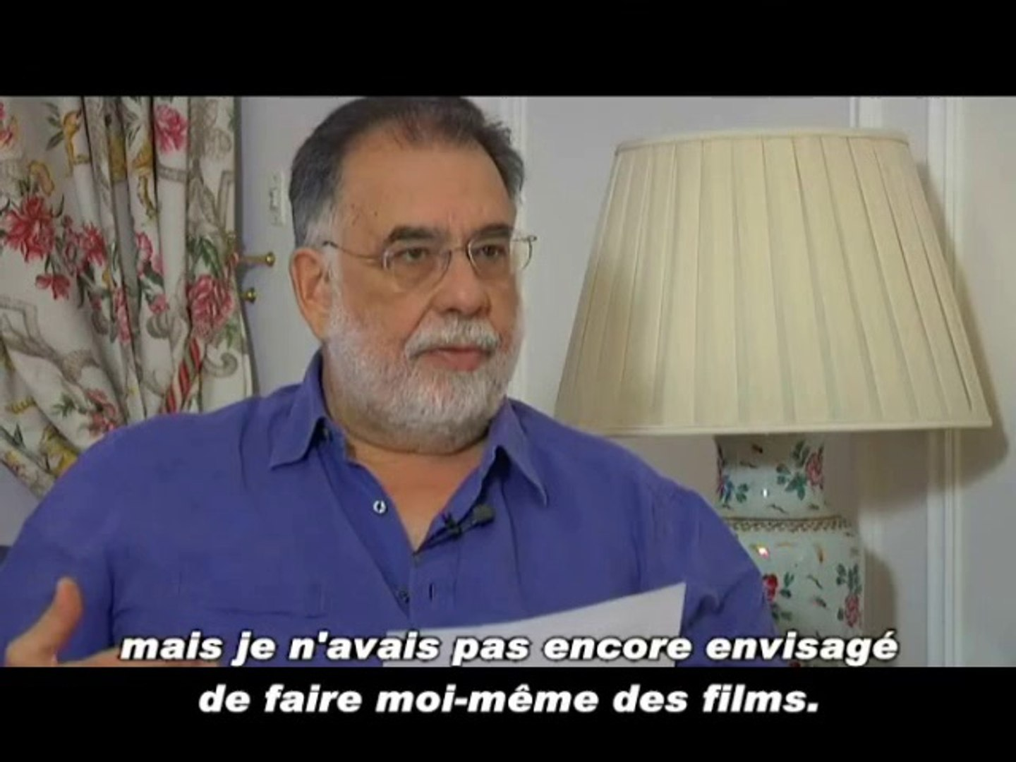 Francis Ford Coppola interview - October