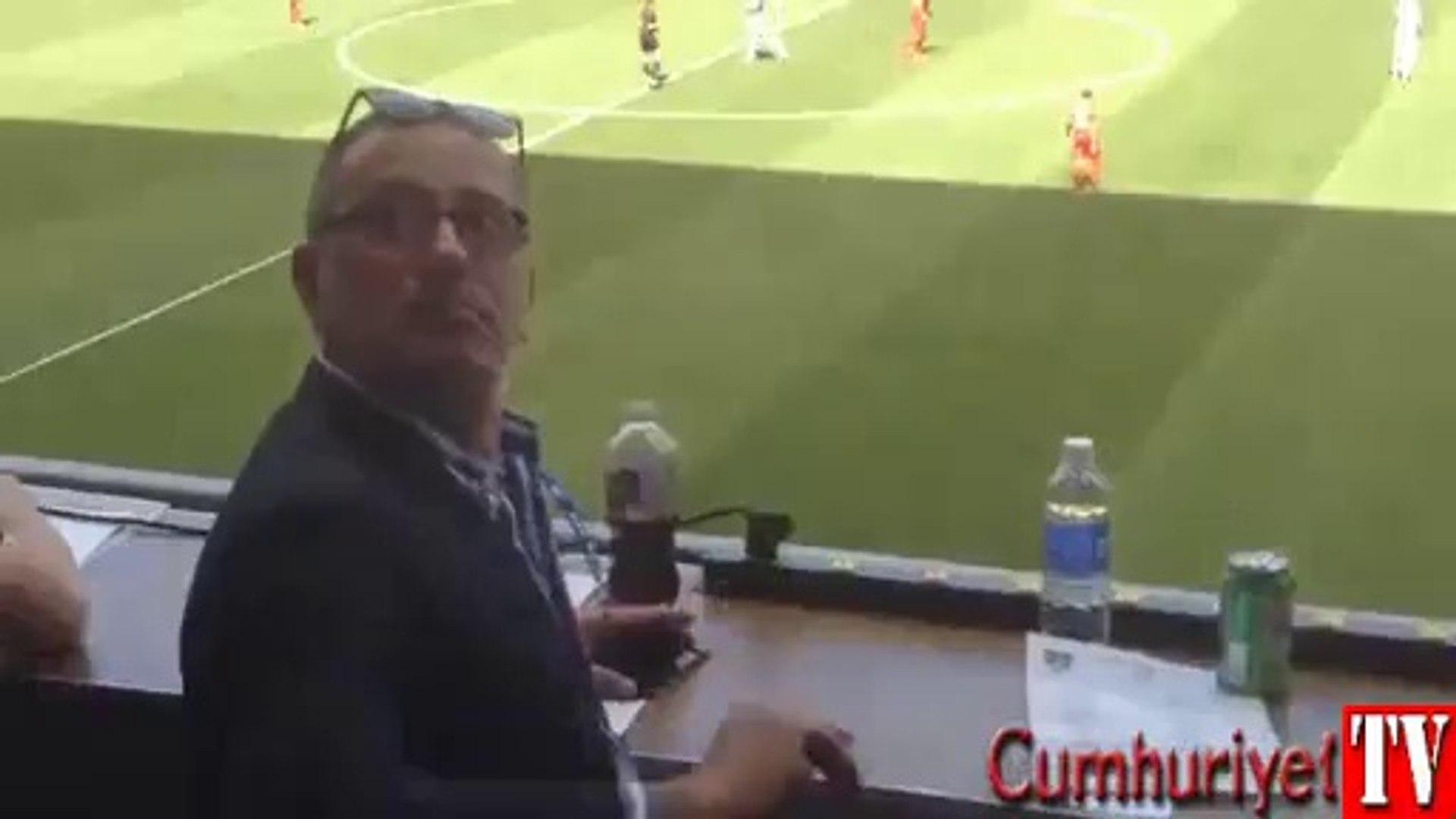 Fatih Altaylı'ya milli maçta şok