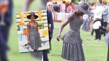 Lupita Nyong'o se roba el show en el evento Veuve Clicquot Polo Classic