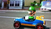 So hilarious Luigi Riding Dirty in Mario Kart 8