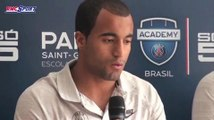 "Football / Lucas Moura : ""Le Brésil, grand favori"" 03/06"