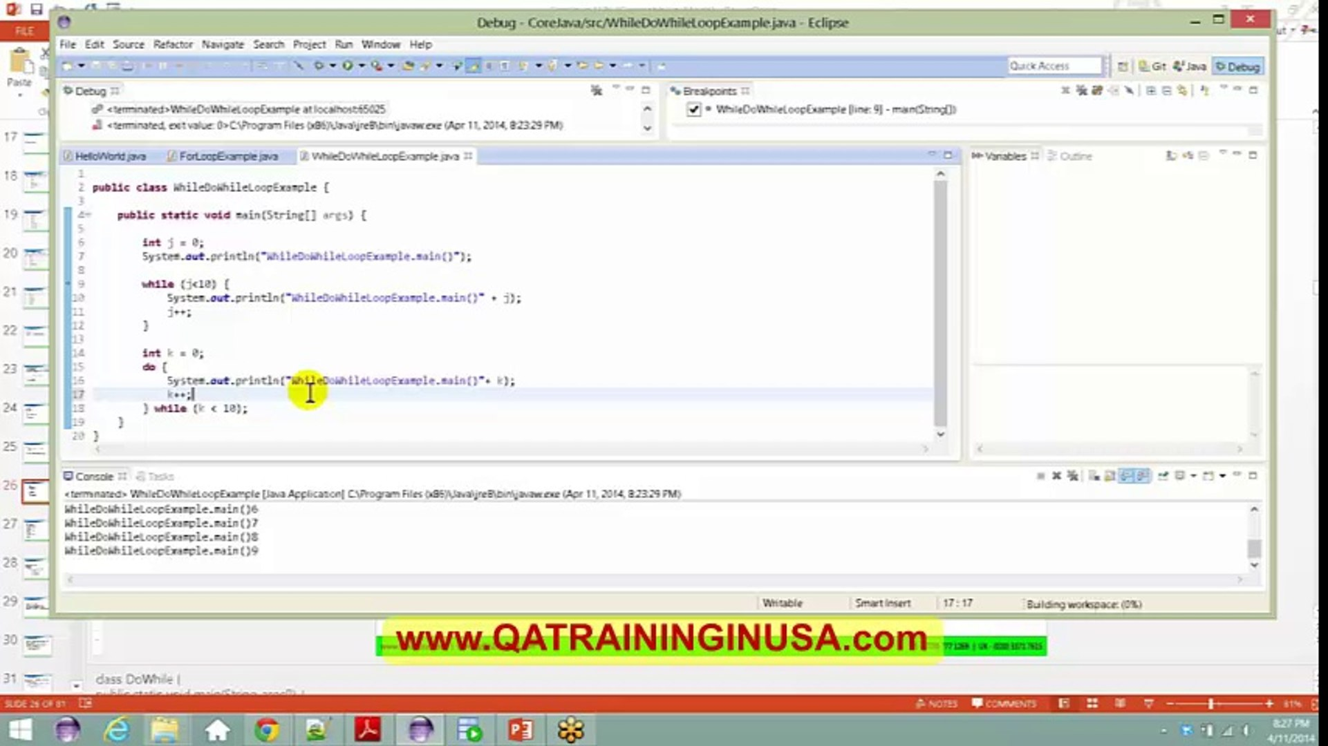 JAVA Online Training Video Tutorial | Free JAVA Videos