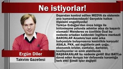 Ergün Diler : Ne istiyorlar!