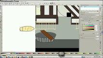 Inkscape + GIMP Practicando Dibujo Caricatura Anime Los Elotes De La Feria Del Libro Linux Fedora 20 Escritorio KDE