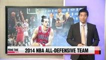 NBA Joakim Noah headlines 2014 NBA All-Defensive Team