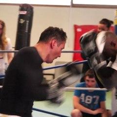 """""""Boxe"""" : stage de pros pour des amateurs !"""