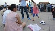 Chine : les forces de l'ordre quadrillent Tiananmen à la veille de l'anniversaire de la révolte