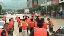 Heavy rain batters southwest China