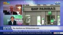 BNP Paribas: la France et les États-Unis vont-ils sortir les armes 3 jours avant les cérémonies du Débarquementen Normandie ?, dans Les Décodeurs de l'éco - 03/06 5/5