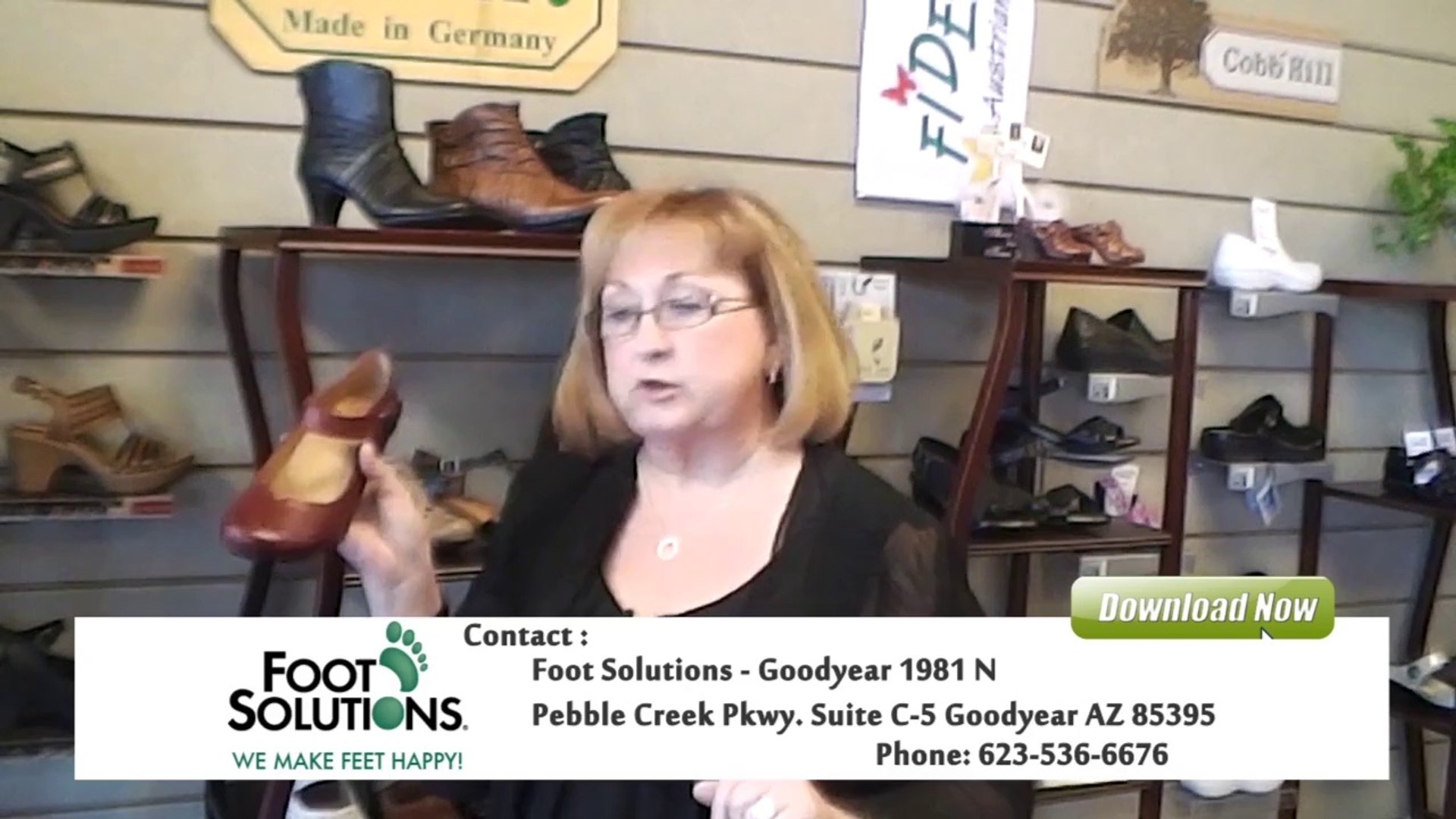 Foot Comfort and Quality Classy Shoes | Foot Solutions Goodyear