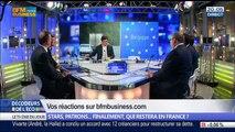 Exil fiscal: Stars, patrons… finalement qui restera en France ?, dans Les Décodeurs de l'éco - 04/06 4/5