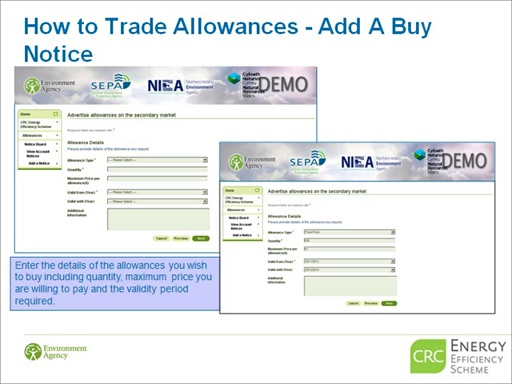 How to trade allowances