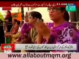 People of Pakistan showing solidarity with MQM Quaid Altaf Hussain in Karachi
