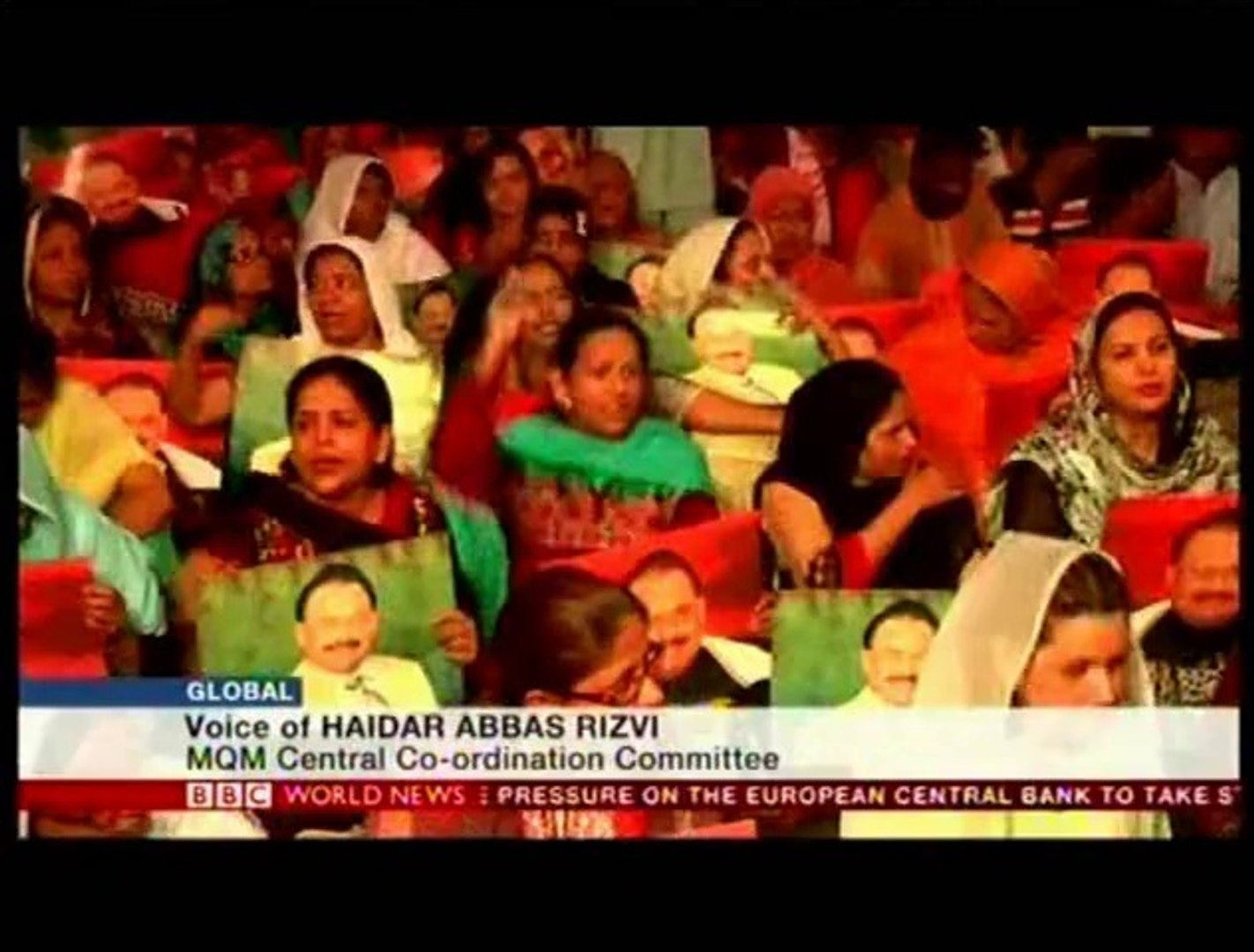 BBC World News: MQM Haider Abbas Rizvi on the News of arrest of Mr Altaf Hussain In London