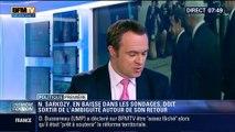 Politique Première: Retour de Nicolas Sarkozy : En baisse dans les sondages, Il doit sortir de l'ambigüité – 04/06