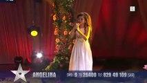 Une fillette de 8 ans, chanteuse magique, gagne Incroyable Talent en Norvège!