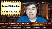 Atlanta Braves vs. Seattle Mariners Pick Prediction MLB Odds Preview 6-4-2014