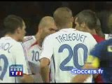 France 1-1 Italie - coupe du monde