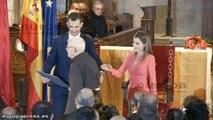 Príncipes de Asturias entregan el Príncipe de Viana