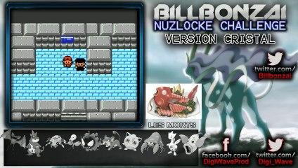 [BillBonzai] Le nuzlocke challenge sur pokemon crystal avec Alfeust (15/24)