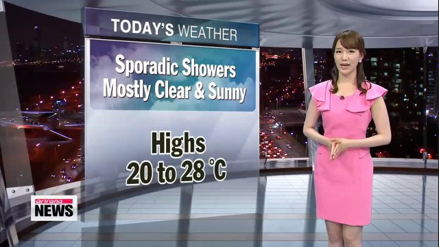 Mostly sunny, clear skies forecast for Thursday