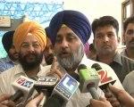 Sukhbir Badal  on proerty tax and drugs reply Bhagwant Mann